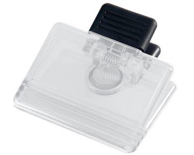 Clear-memo-holder-fridge-magnet