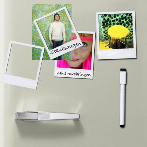 Photo frame fridge magnet